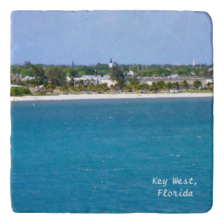 Línea de la playa de Key West Salvamanteles