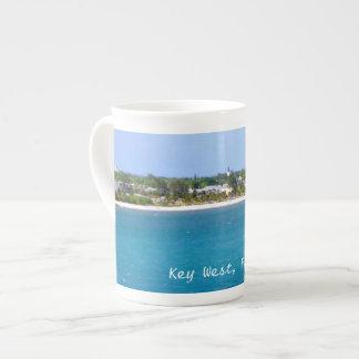 Línea de la playa de Key West Taza De Porcelana