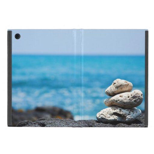 Línea de la playa de Kona Hawaii - plantilla modif iPad Mini Cobertura