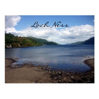 línea de la playa de Loch Ness Postal