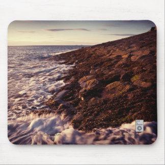 Línea de la playa del este del embarcadero, Dun Mousepads