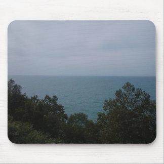Línea de la playa del lago Michigan Alfombrilla De Raton