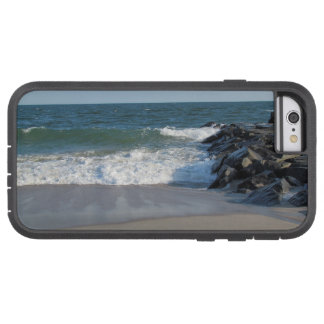 Línea de la playa funda de iPhone 6 tough xtreme