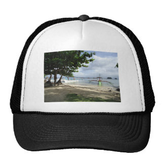 línea de la playa gorra