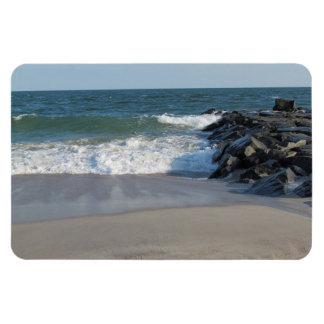Línea de la playa imanes flexibles