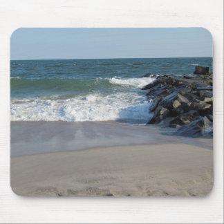 Línea de la playa tapetes de raton
