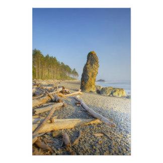 Línea de la playa y Seastacks, playa de rubíes, ol Fotografía