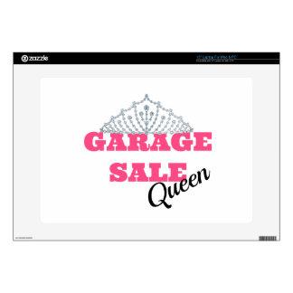Línea de la reina de la venta de garaje 38,1cm portátil calcomanía