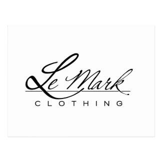 Línea de la ropa de Lemark Postales