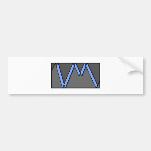 Línea de la VM Pegatina Para Auto