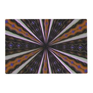Línea de mirada extraña modelo tapete individual