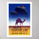 Línea de Palestina Poster