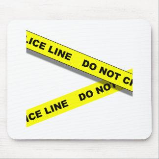 Línea de Polcie Tapetes De Ratones