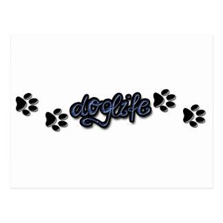 línea de productos del doglife postal