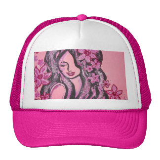 "Línea de productos ""ideal"" rosada gorra"