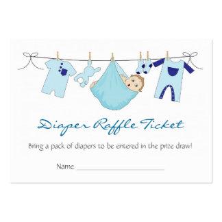 Línea de ropa del bebé tarjeta de visita de la