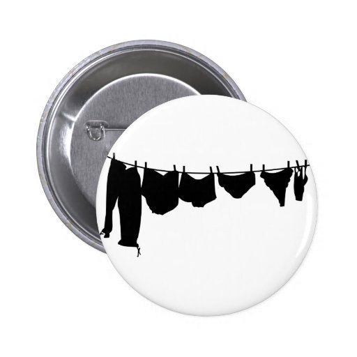 Línea de ropa silueta pin