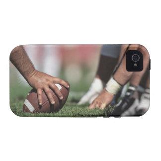 Línea de scrimmage del fútbol iPhone 4/4S carcasa