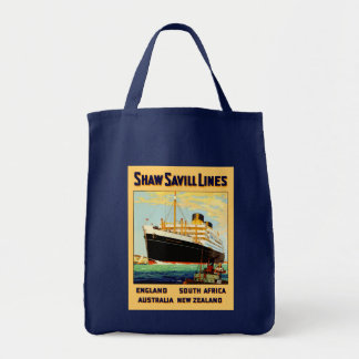 Línea de Shaw Savill Bolsa Tela Para La Compra