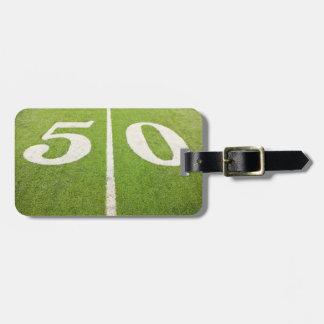 Línea de yardas 50 etiquetas para maletas