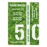 Línea de yardas 50 - le invitan anuncio