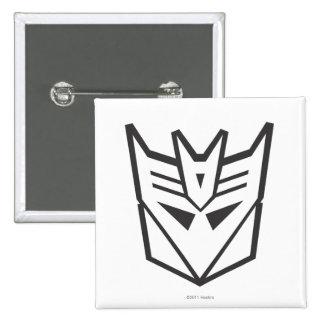 Línea del escudo de G1 Decepticon Pins