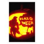 Línea del feliz Halloween Papeleria Personalizada