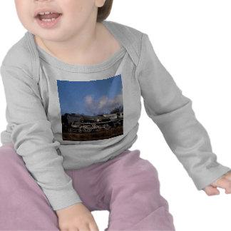 Línea del puerto en Horsted Keynes Camisetas