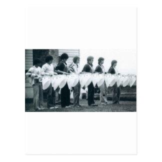 Línea del tenor de la escuela vieja - Seattle Postal