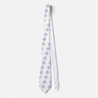 Línea diversión del baile corbata personalizada