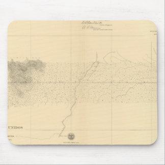 Linea Divisoria Entre Mexico 7 Mousepads