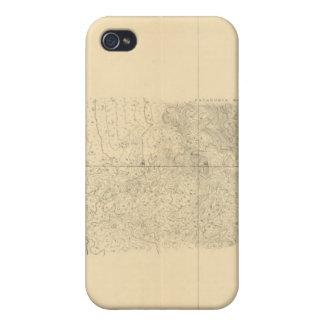Linea Divisoria Entre México 8 iPhone 4 Carcasas