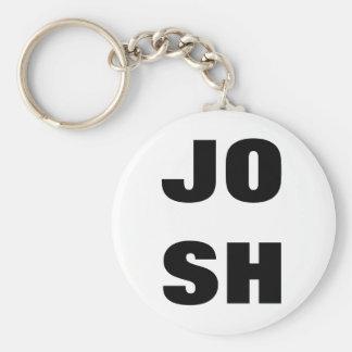 "Línea doble llavero de ""JOSH"""