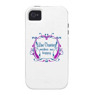 Línea feliz baile Case-Mate iPhone 4 funda