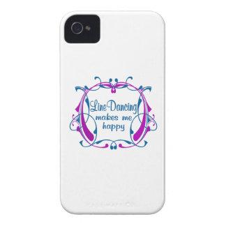 Línea feliz baile Case-Mate iPhone 4 coberturas
