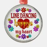 Línea feliz baile ornatos