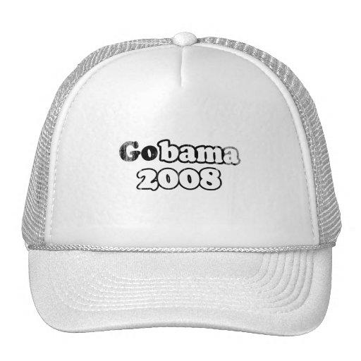 Línea gobama Faded.png de Barack Obama Gorro