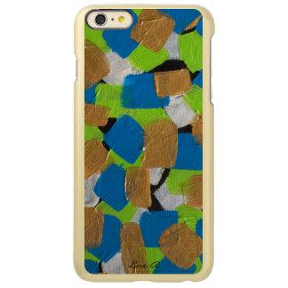 LineA Green Gold & Blue Incipio Feather Shine iPhone 6 Plus Case
