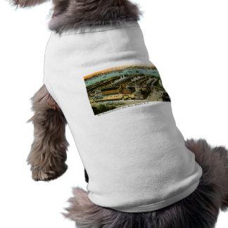 Línea Hamburgo-Americana Hoboken New Jersey Camisas De Perritos