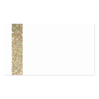 Línea invitación moderna elegante del oro tarjetas de visita