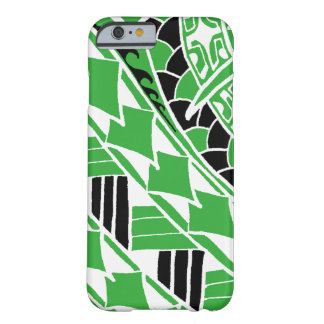 LineA Kelly Green Polynesian Tattoo Barely There iPhone 6 Case