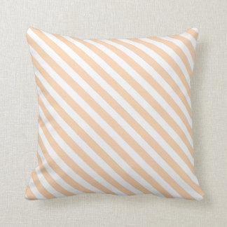 Línea ligera de la diagonal del diseñador del alba almohada