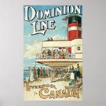 Línea Liverpool del dominio a Canadá Impresiones