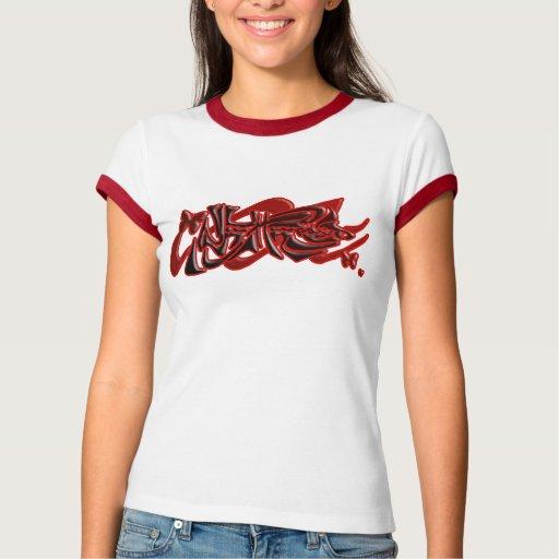 línea mariposa de New Hampshire Tee Shirt