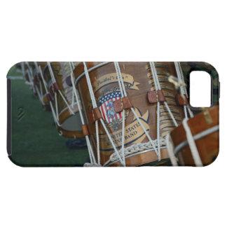 Línea militar del tambor de Estados Unidos iPhone 5 Carcasa