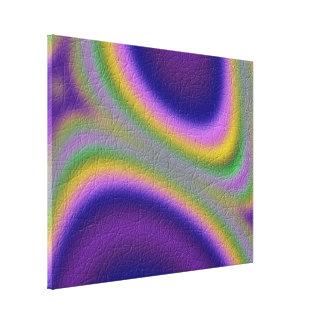 línea modelo el en semi-círculo lienzo envuelto para galerías
