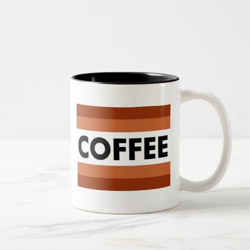 línea multi taza del café