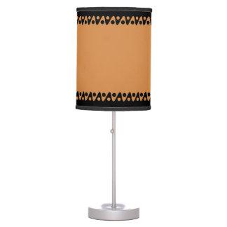 Línea negra frontera 2 del diseño lámpara de escritorio