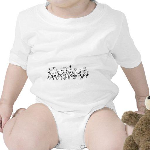 Línea papel del drenaje del diseño del extracto de traje de bebé