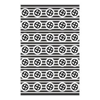 Línea papel del drenaje del diseño del extracto  papeleria de diseño